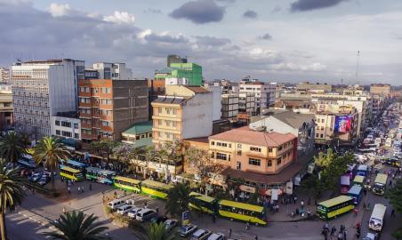 Ziel des Fluges: Nairobi