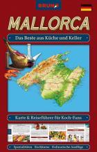 """Landkarte und Reiseführer in einem: Die neue BRUNO Themen-Karte Mallorca """"Das Beste aus Küche und Keller"""""""